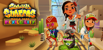 Постер Subway Surfers Mexico