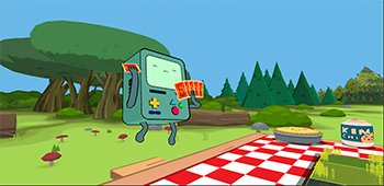 Постер Card Wars - Adventure Time