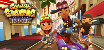 Постер Subway Surfers Los Angeles