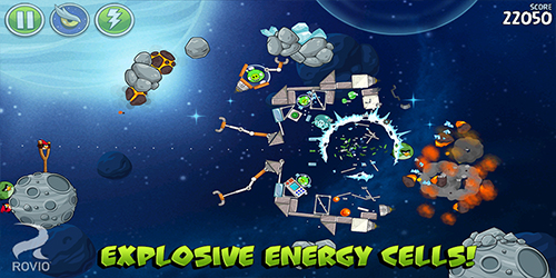 Angry Birds Space Free, Premium и HD версия