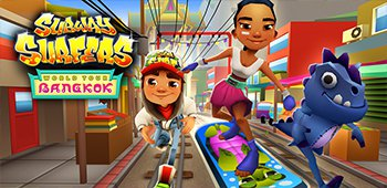 Постер Subway Surfers Bangkok