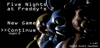 Постер Five Nights at Freddy's 2
