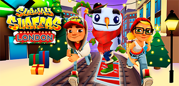 Постер Subway Surfers London