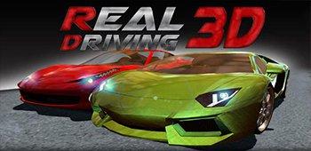 Постер Real Driving 3D