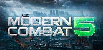 Постер Modern Combat 5: Затмение
