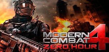 Постер Modern Combat 4: Zero Hour