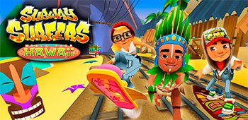 Постер Subway Surfers Hawaii