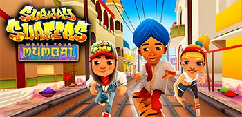 Постер Subway Surfers Mumbai в городе Индии