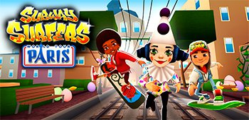 Постер Subway Surfers Paris