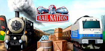 Постер Rail Nation: игра о поездах