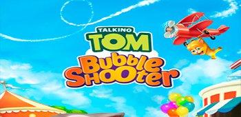 Постер Говорящий Том: бабл-шутер