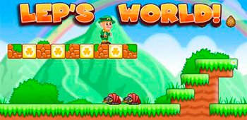 Постер Игра Lep's World на Андроид