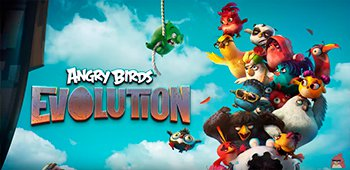 Постер Angry Birds Evolution на Андроид
