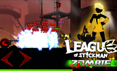 League of Stickman Zombie на Андроид