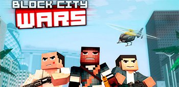 Постер Block City Wars: Skins Export