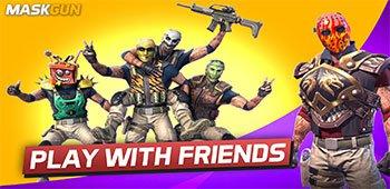 Постер MaskGun (Multiplayer) FPS