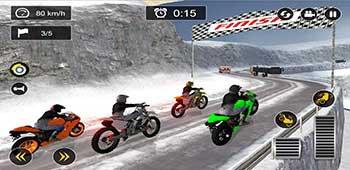 Snow Mountain Bike Racing 2019 - Motocross Race