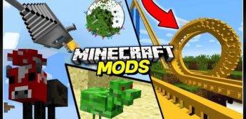 Постер Моды для Minecraft (mcpe моды и mcpe аддоны)