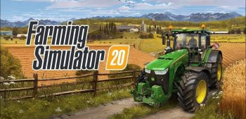 Постер Farming Simulator 20