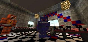 Постер Mod Freddy для Minecraft