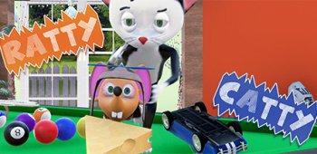 Постер Catty Ratty (Кошки Мышки)